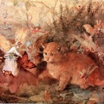 John Anster Fitzgerald - Cat Among the Fairies