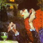 Pablo Picasso, Woman Drinking Absinthe, 1901