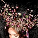 Beaded Headpiece by Twisted Whimsy