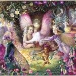 """""""Titania and the Changeling"""" by John Anster Fitzgerald@Sauge d'Une Nuit d'Ete"""