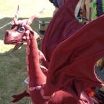 Dragon sculpture from Anwyn © Maxamaris Hoppe