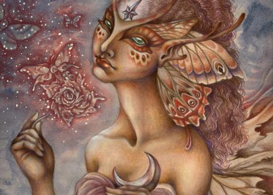 The Moth Rose by Desirée Isphording