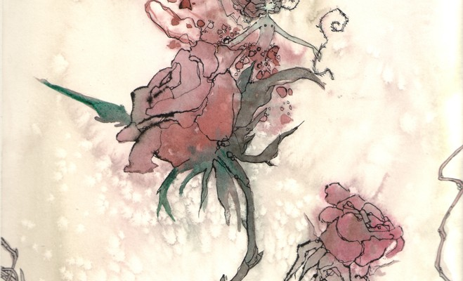 Faery Stories: The Rose by Annie Rodrigue