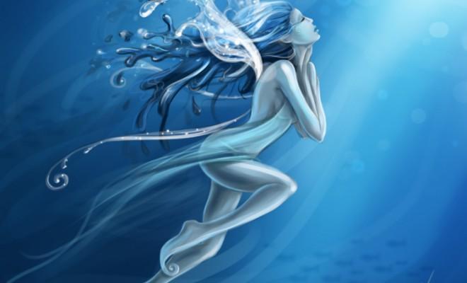 Water Fairy by Ilo Kostrzewa