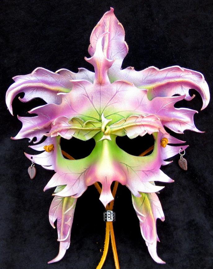 Green Fairy Mask