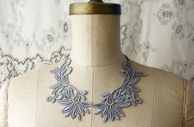 Lace neckpiece by