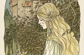 The Golden Ball illustration by Līga Kļaviņa@DeviantArt