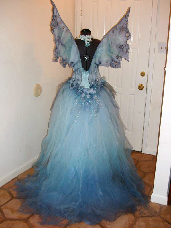 Water Fairy via Fantasy Couture. Upcycled ... & 31 Days of Fairy Costumes | FairyRoom