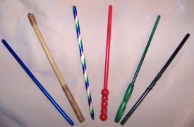 DIY wands @ The Crafty Teacher