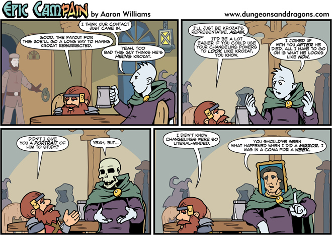 Dungeons And Dragons Comic Strip