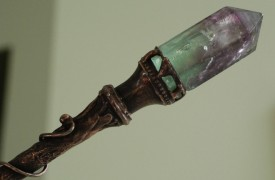 Flourite Wand by  Queenie88 on Etsy