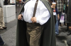 Frodo the Hobbit costume @Doug Kline