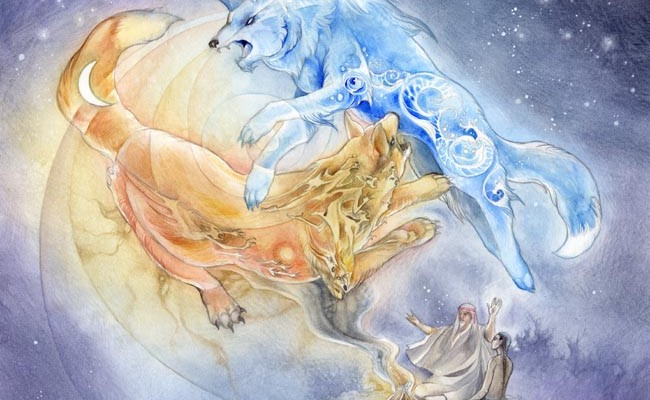 Two Wolves by Stephanie Pui-Mun Law