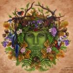 Greenman by Brigid Ashwood