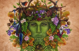Greenman by Brigid Ashwood