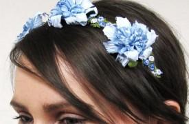 Rose headpiece by  Honeymoon Muse