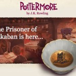 Harry Potter and the Prisoner of Azkaban email announcement, courtesy of Pottermore