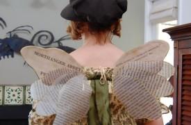 Jane Austen fairy wings © Koska the cat