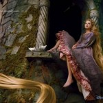Taylor Swift as Rapunzel -- For Disney Parks