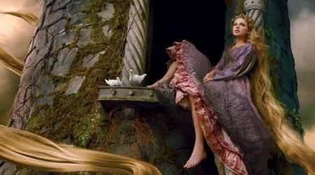 Taylor Swift as Rapunzel -- For Disney Parks