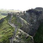Tintagel Castle in Cornwall © (2012) GhostVillage.com
